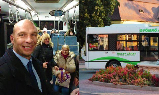 Egy fontos ember ült fel Gyömrőn a buszra, illatosítót kértek tőle