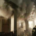 Nagyon füstölt egy kistarcsai épület, az gyulladt meg, amire nem is számítottak