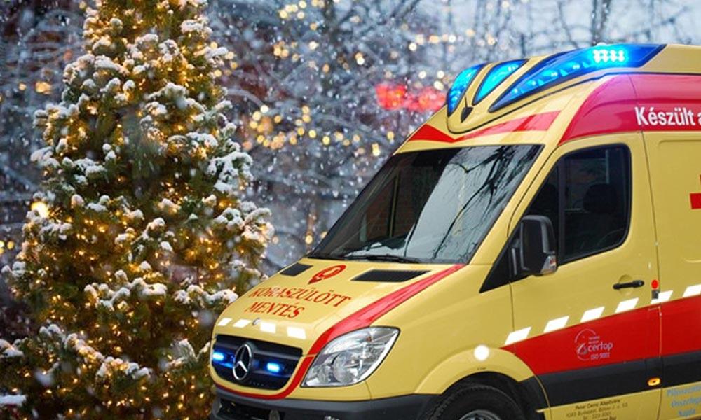 Karácsonyi vészhelyzet esetén tudj róla! A kórházak, a mentők folyamatosan, a patikák ügyeleti rendben működnek