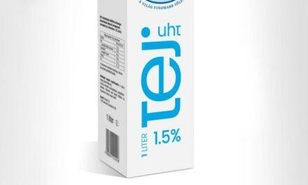 Termékvisszahívás: tartós tejet vett le a polcairól a Spar