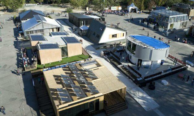 Csúcstechnikával készülő, napelemes házak versenyeznek Szentendrén