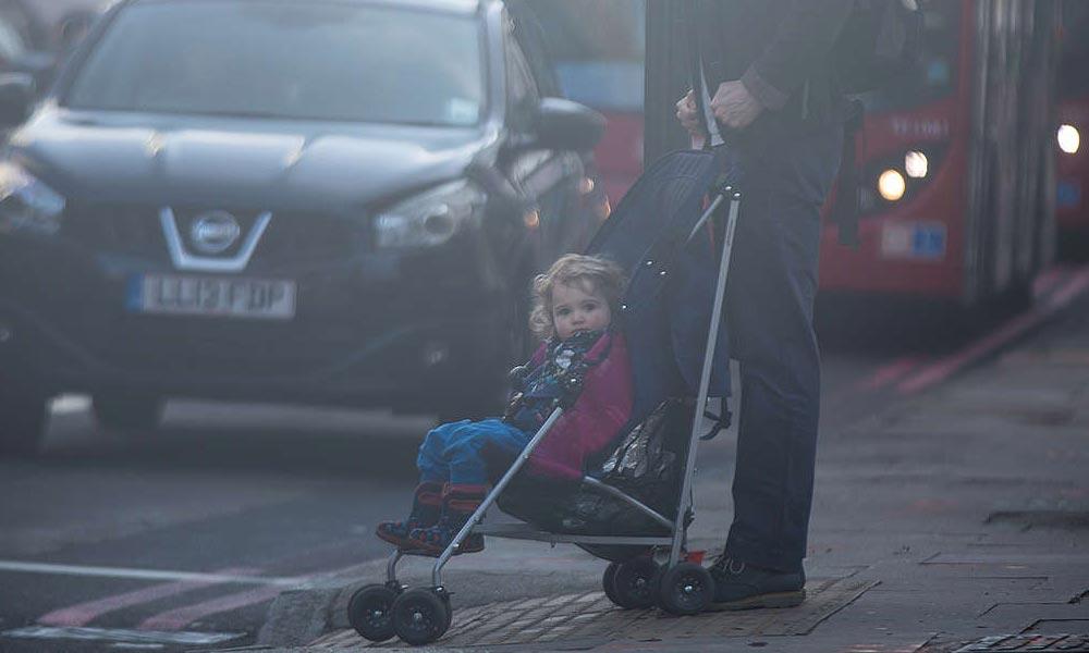 Egészségtelen a levegő az egyik agglomerációs városban