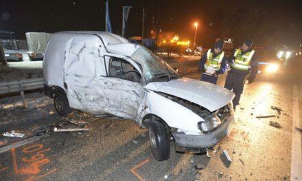 Halálos baleset történt az 5-ös főúton