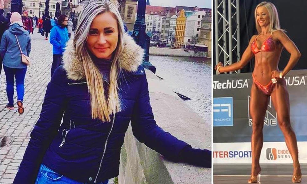 Túllépett a saját korlátain: Kemény rendőr és profi fitneszmodell a monori rendőrnő