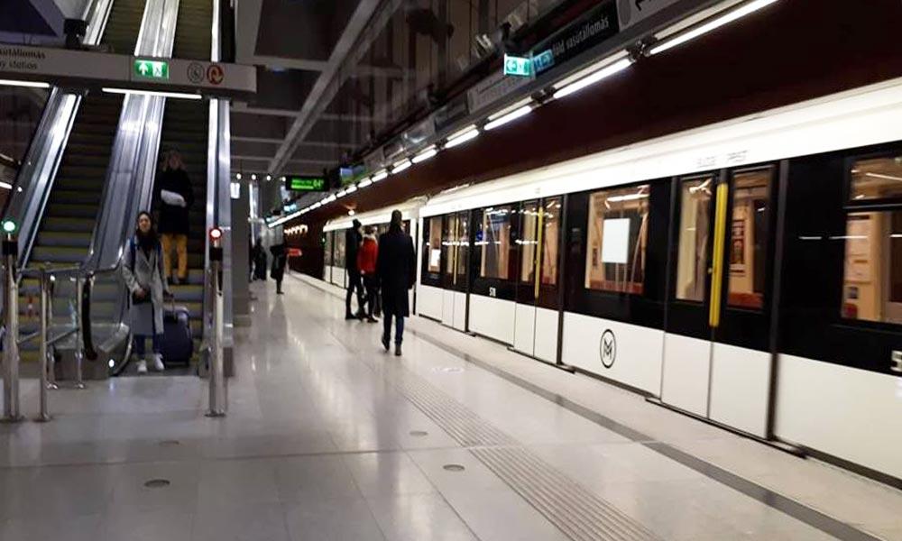 Beléptetőkapuk lesznek a 4-es metró állomásain
