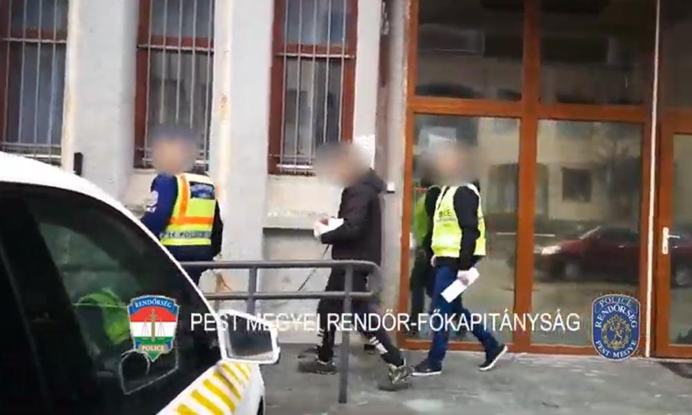 Elkapták a betörőket, nem fognak több pest környéki otthont kirámolni
