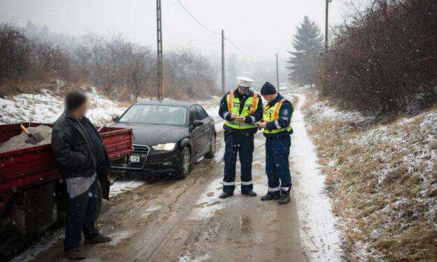 Egyszerre hét agglomerációs településen razziázott a rendőrség