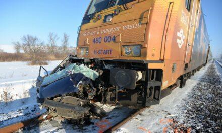 Egy jegyespár vesztette életét a galgahévizi vonatbalesetben