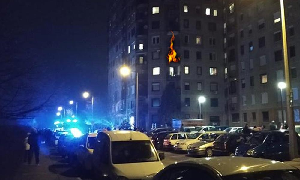 Autó és lakás lángolt Dunakeszin – gyorsan érkeztek a tűzoltók