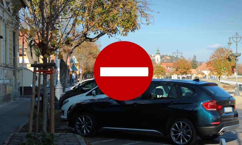 Itt a válasz arra, kiknek tiltják meg a behajtást Szentendrére