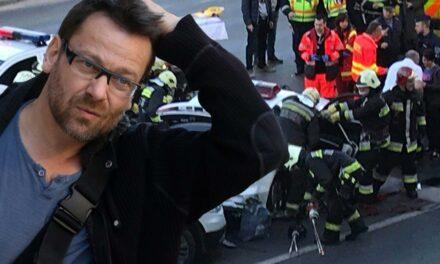 Lovasi András zenész,énekes okozott balesetet Budapesten, egy rendőr is megsérült