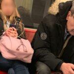 A 4-es metrón kapták lencsevégre a facebookozó volt főpolgármestert, Demszky Gábort