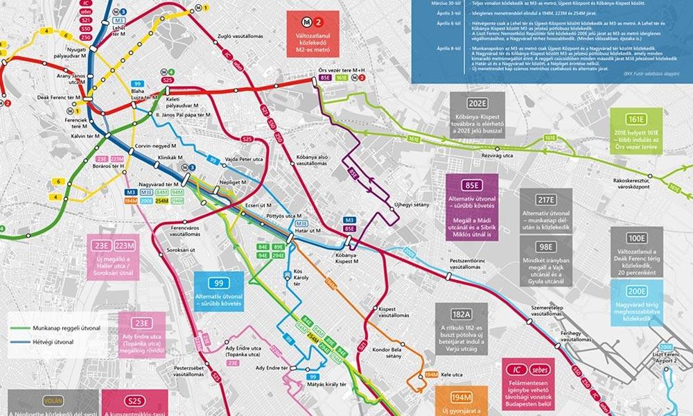 Kiderült, mi vár a Budapesten közlekedőkre az M3-as metró felújítása miatt