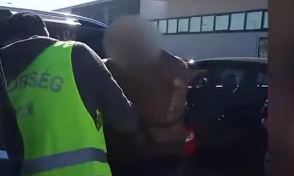 Kokainbárót fogtak az Aldi parkolójában (Videó)