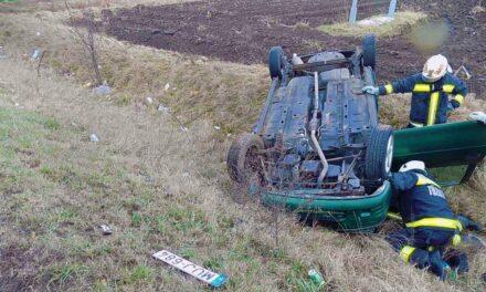 Súlyos baleset miatt lezárták az egyik utat az agglomerációban
