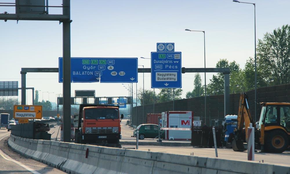 Torlódások mindenfelé az agglomerációs autópályákon