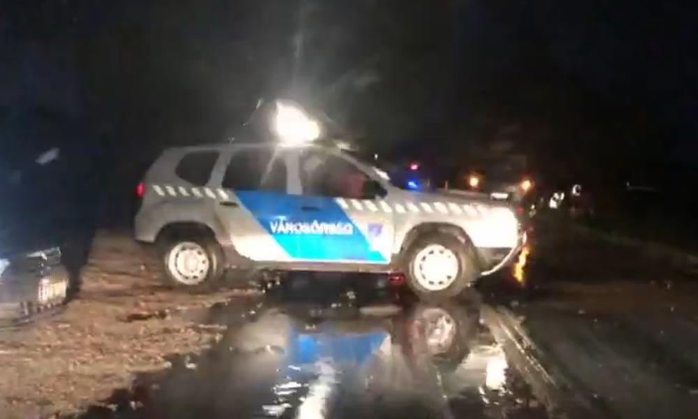 Baleset miatt lezárták az utat Páty és Zsámbék között (Videó)