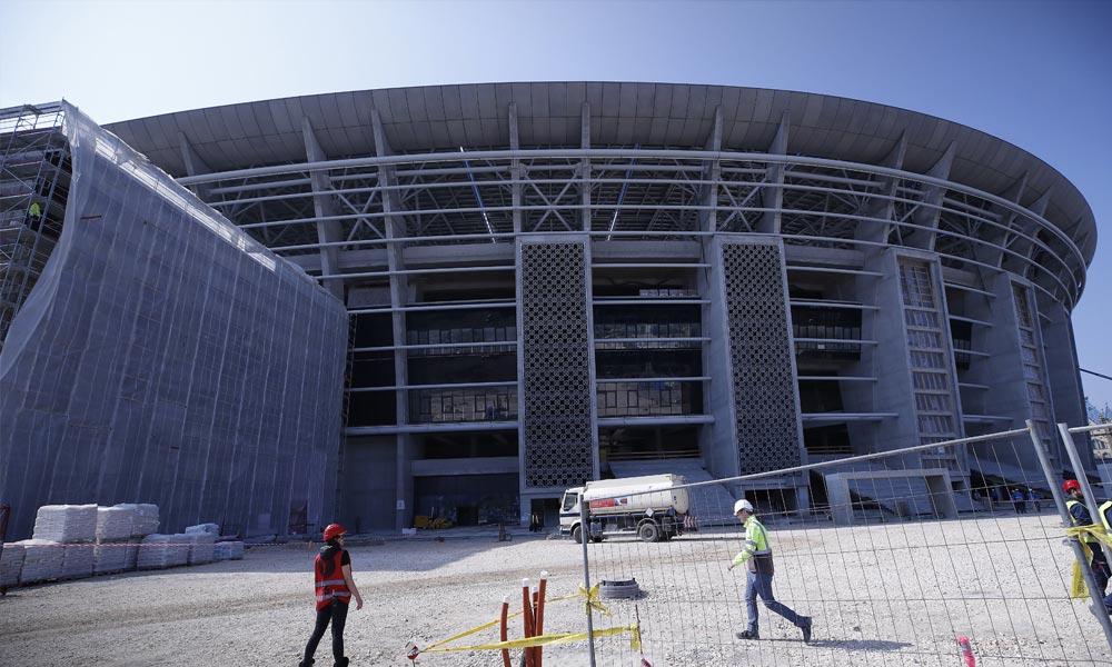 Látványos videó az ország legnagyobb sportépülete a Puskás Aréna építéséről