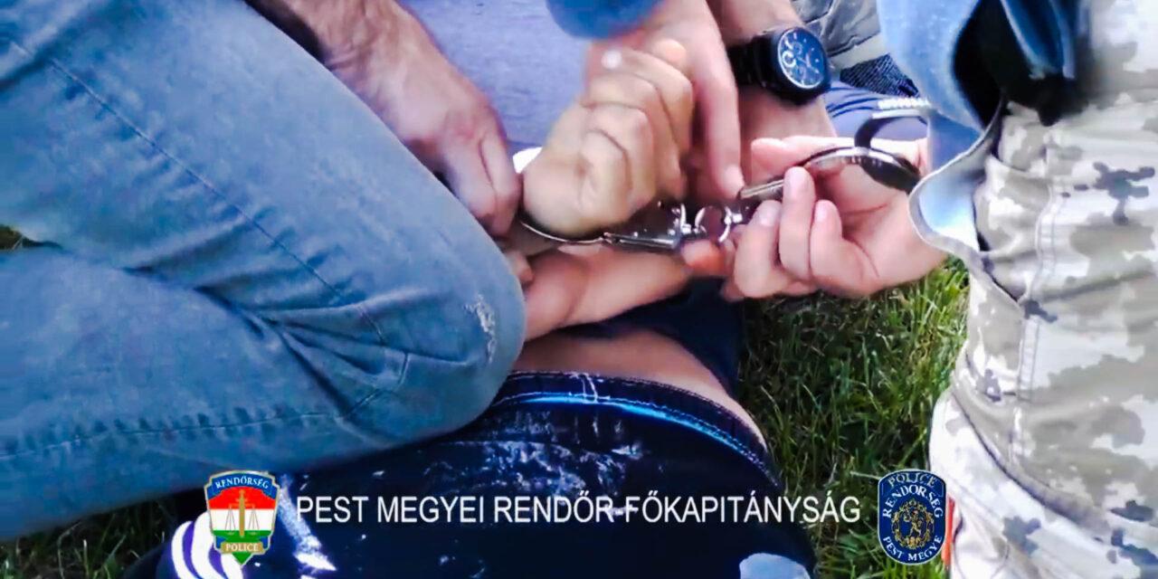 Így kattant a bilincs az unokázós csaló kezén a pesti agglomerációban (Videó)