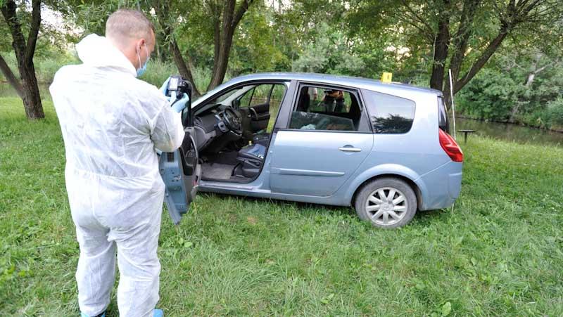 Elfogták a Renault-val menekülő érdi gyilkost