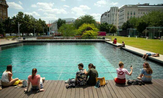 Megdőlt a budapesti melegrekord