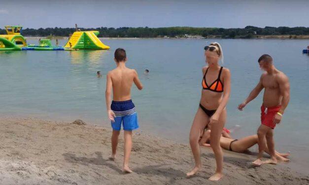 Kiakadt a Lupa-tóba fulladt férfi családja a vízimentők miatt