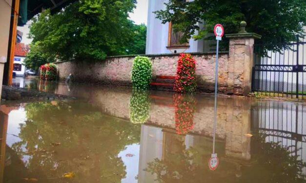 Csúnyán elázott Szentendre és Göd az agglomerációt elérő viharban