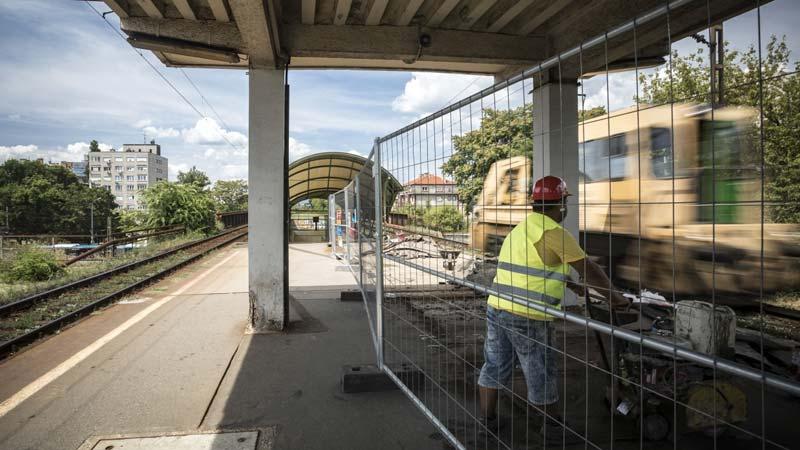 Zugló vasúti megállóhelyet is elérte a MÁV felújítási hulláma