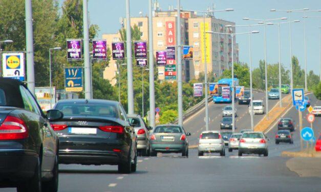 A téli munkaszünetben visszaadják a forgalomnak a Szentendrei utat