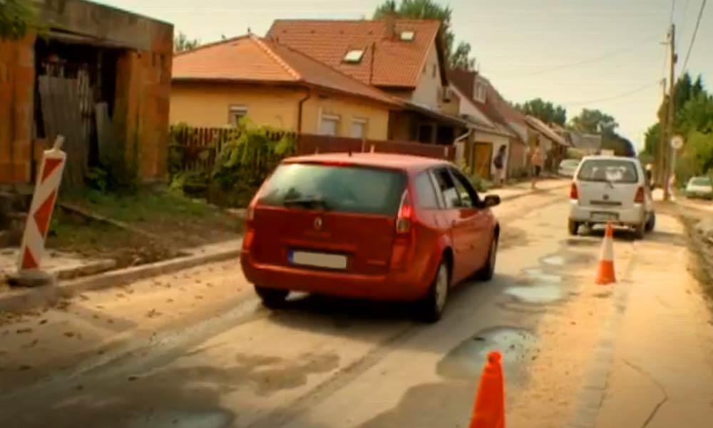 Nem tetszik a felújított utca, mert félnek a rájuk ömlő forgalomtól