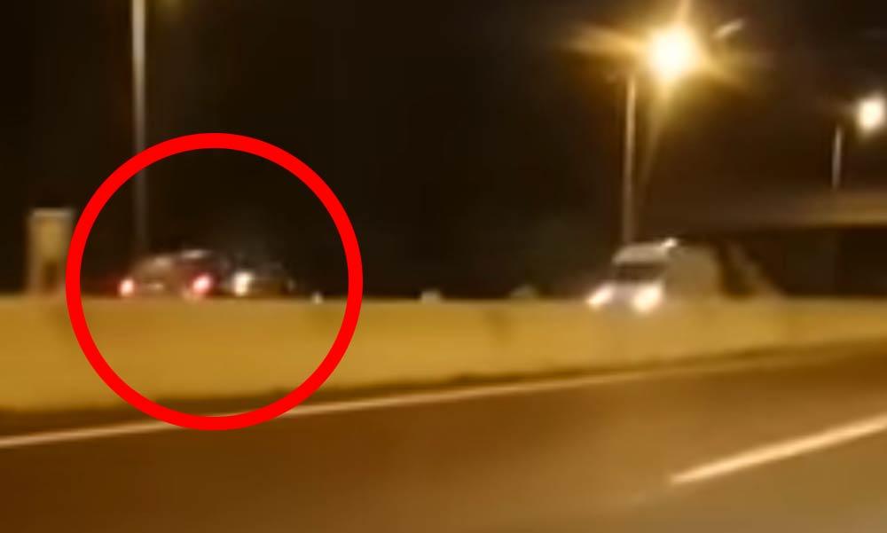 Szembe a forgalommal! Videóra vették az M5-ösön száguldozó anyát