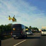 Két helyen baleset van az M1-es autópályán. Monornál tömegbaleset van a 4-esen