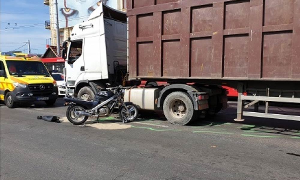 Halálos motorbaleset Zuglóban