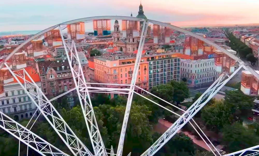 Szuperlátványos drónvideó Budapestről – elszédülsz, ha nézed!