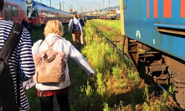 Otthagyta az utasokat a MÁV! Ismét szivatják a monoriakat