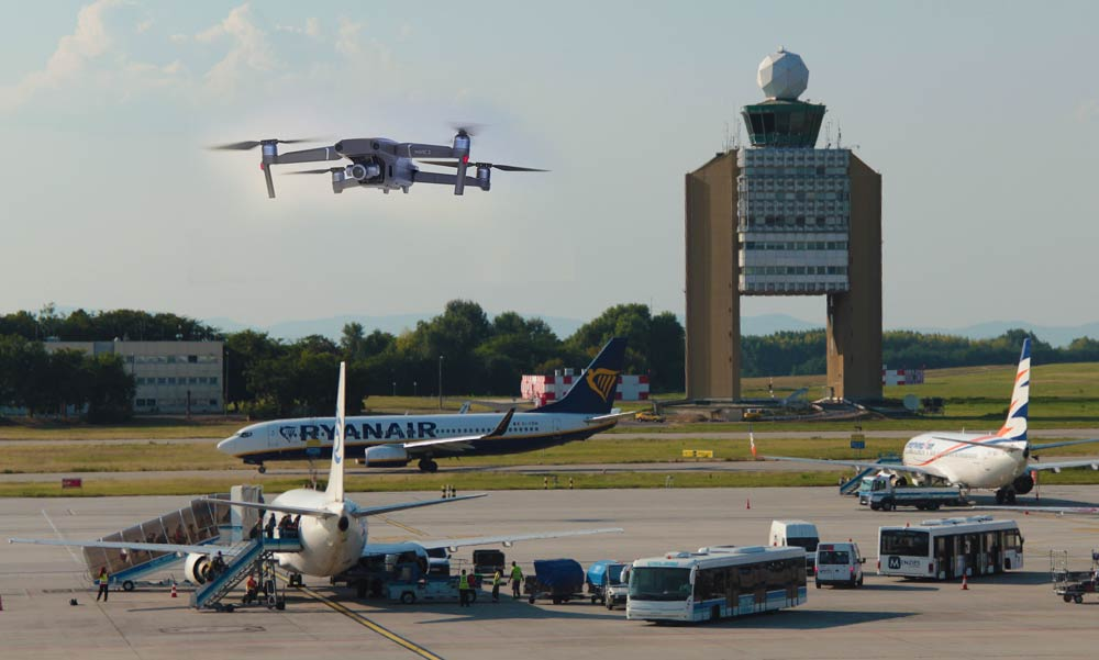Budapest Airport: drónozók veszélyeztették a légiforgalmat