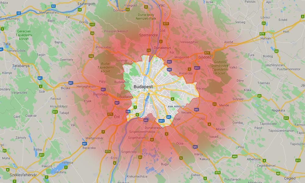Budapestről az agglomerációba menekülnek az emberek – itt vannak a friss adatok!