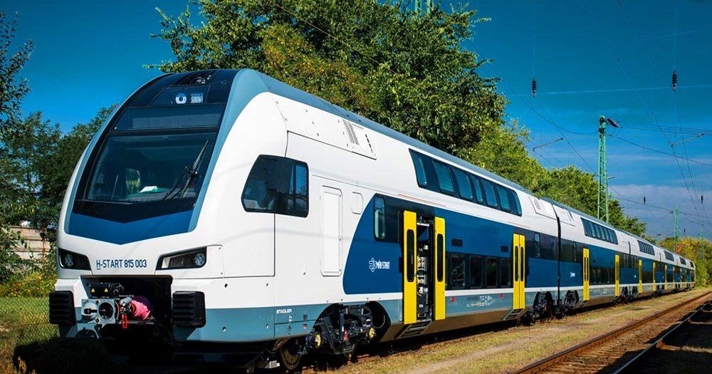 A döcögő vonatok helyett száguldó, modern szerelvények járnak majd a lajosmizsei vonalon