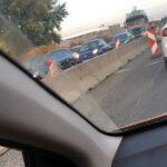 Betonelem miatt közlekedési káosz van az agglomerációban