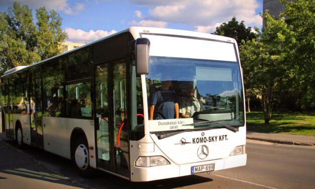 Radikálisan átalakítják Dunakeszin a helyi buszjáratokat, az ingázókra szabják a menetrendet