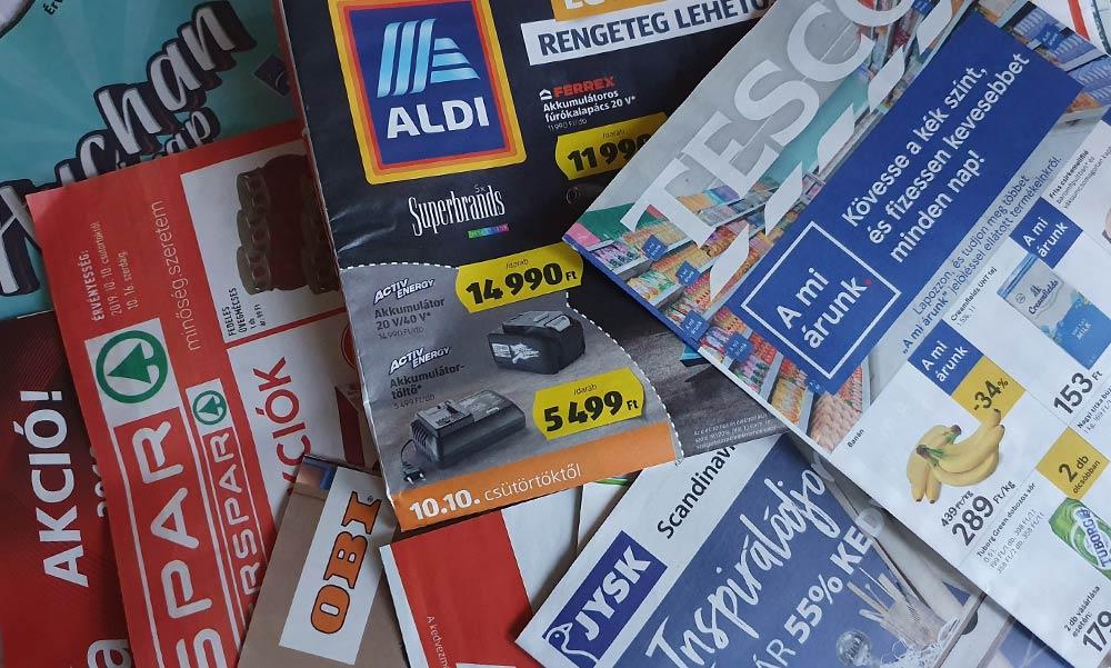 Szuper árakkal hívogatják a háziasszonyokat a bevásárlóközpontok most hétvégén
