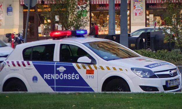 Lövöldözés Budapesten, golyóálló mellényben vonultak ki a rendőrök