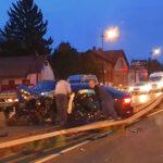 Durva balesetek, hatalmas dugók péntek este Budapest környékén