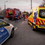 Balesetek az agglomerációban: kábelbe akadt teherautó és baleset az M0-áson (Fotók)