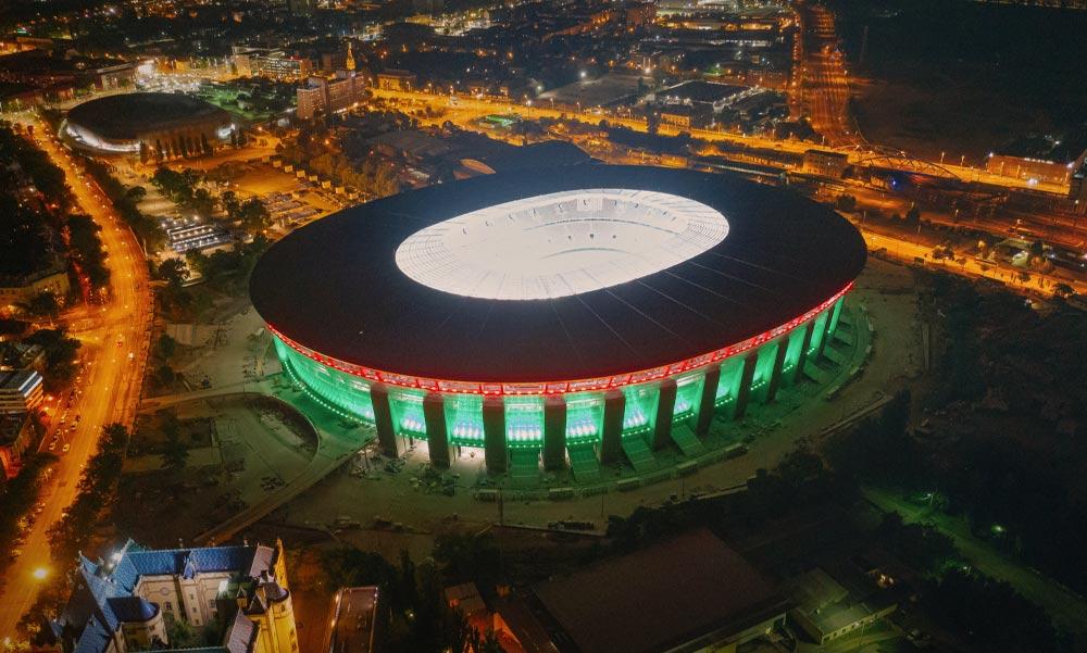 Megnyílt a Puskás Aréna, Budapest új nevezetessége
