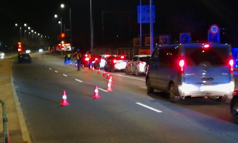 Nagyszabású rendőrségi razzia volt két budapesti kerületben