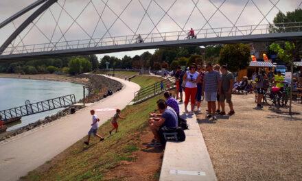 Szentendre belvárosánál akarnak biciklis hidat a Dunán, már gyűjtik az aláírásokat