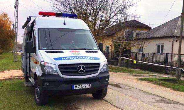 Gyilkosság az agglomerációban, kivégezte élettársát a férfi