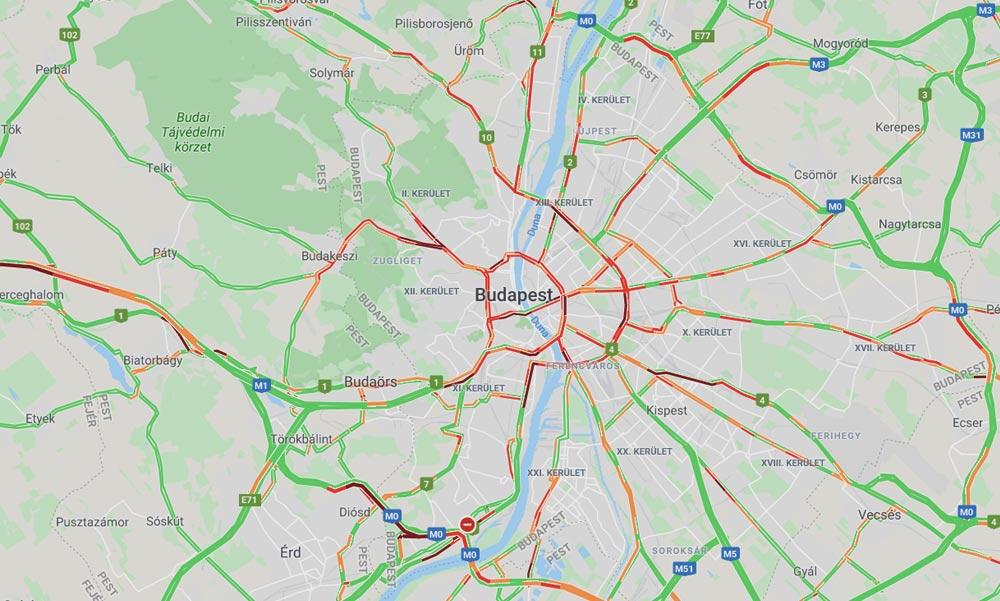 Orak Ota All A Forgalom A Budakeszi Uton Budapestkornyeke Hu A