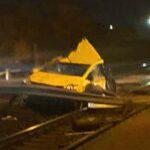 Vecsési vonatbaleset: összeomlott a taxisofőr